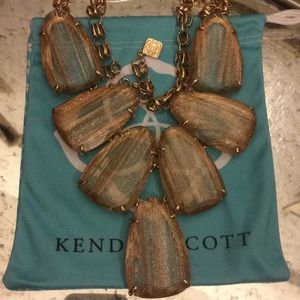 Kendra Scott Gold Dusted Harlow